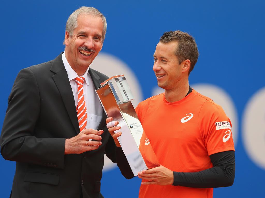 Philipp Kohlschreiber feierte seinen dritten Turniersieg in München