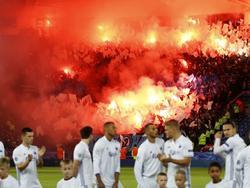 Das Stadion brannte vor dem Abpfiff in Kopenhagen