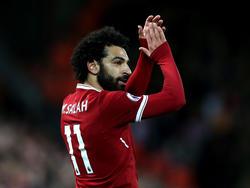 Mohamed Salah hat bereits 14 Tore in 18 Partien geschossen