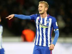 Fabian Lustenberger kann für Hertha beim VfB Stuttgart auflaufen