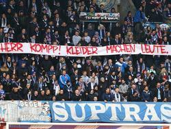 Rostocker Fans teilen sich mit