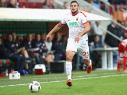 Raúl Bobadilla wird dem FCA verletzungsbedingt fehlen