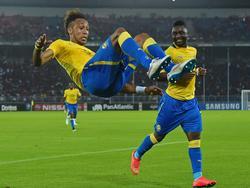 Pierre-Emerick Aubameyangs Salto-Jubel wollen die Gabuner beim Afrika-Cup öfter sehen