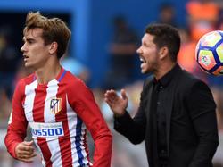 Antoine Griezmann spielt noch unter Diego Simeone bei Atlético Madrid