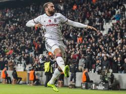Der Ex-Frankfurter Cenk Tosun ist zu einem Leistungsträger bei Beşiktaş gereift.