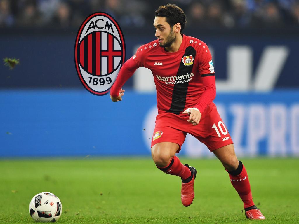 Zeitung: Leverkusens Calhanoglu verhandelt mit AC Mailand