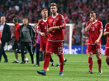 Nicklas Bendtner spielte erstmals seit zwei Jahren wieder für die Nationalmannschaft