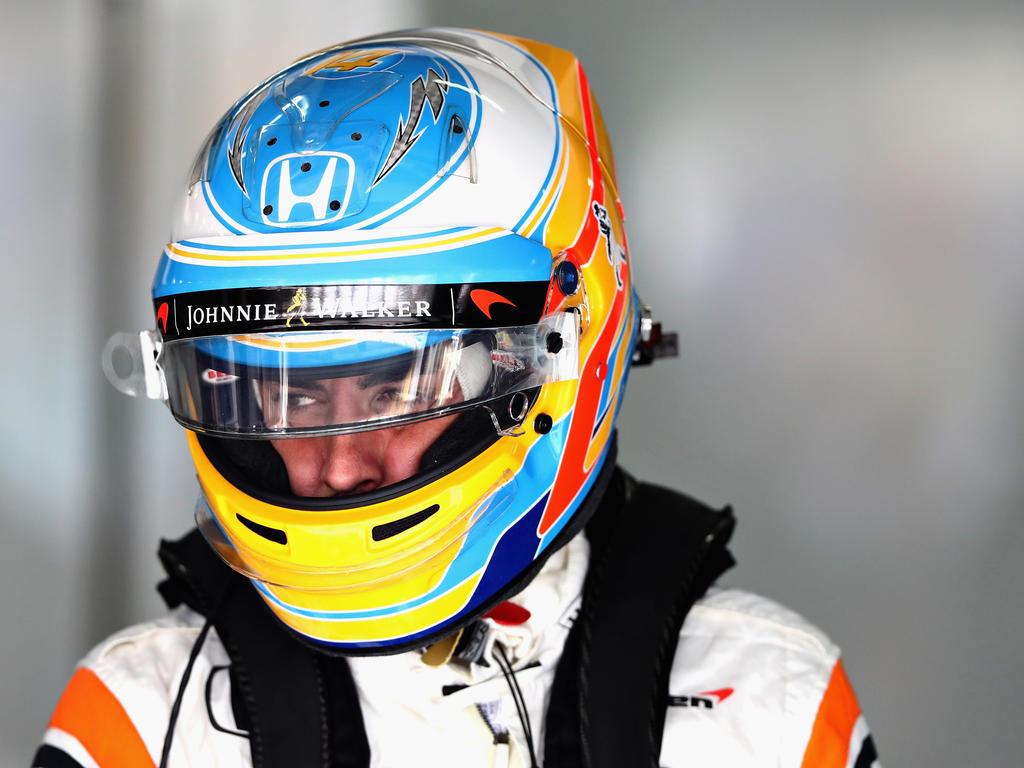 Fernando Alonso staunte nicht schlecht über das Tempo seines McLaren