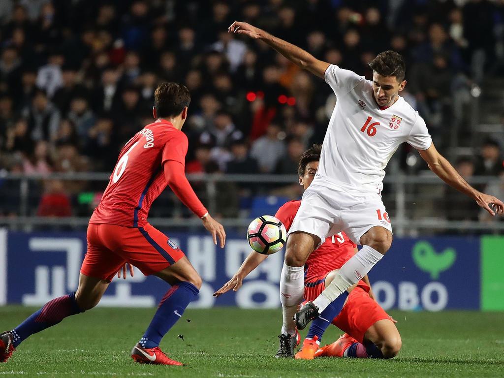 Südkorea und Serbien trennen sich unentschieden