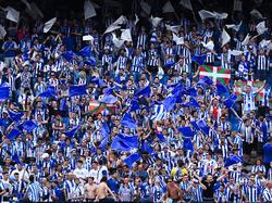 Afición del Deportivo Alavés en una imagen de archivo. (Foto: Getty)