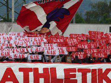 Die Fans des GAK blieben den Roten auch im Unterhaus treu