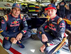 Carlos Sainz und Max Verstappen