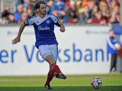Manuel Hartmann schnürt ab jetzt in der Regionalliga-Nord für den TSV Schilksee die Schuhe
