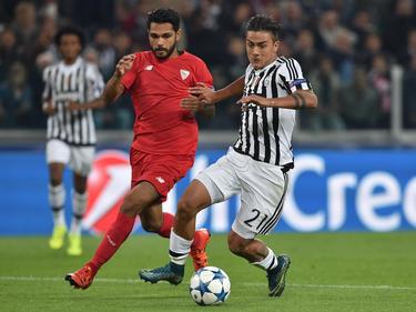 El Sevilla ya coincidió con la Juventus el año pasado en Champions. (Foto: Getty)