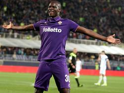 Khouma Babacar schlug zwei Mal zu für Fiorentina gegen Inter