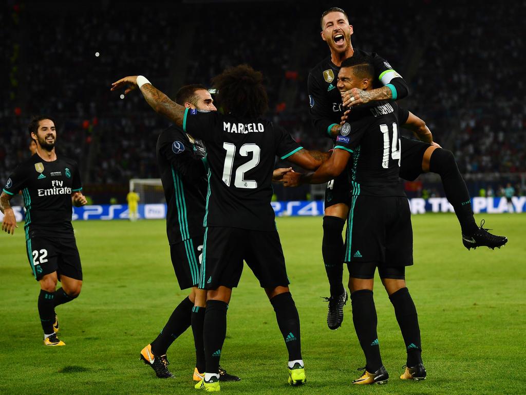 Real Madrid sicherte sich den nächsten Titel