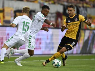 Keinen Sieger gab es zwischen Dynamo Dresden und Greuther Fürth