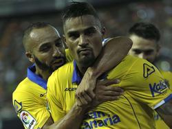 Kevin-Prince Boateng traf in seinem ersten Spiel für UD Las Palmas