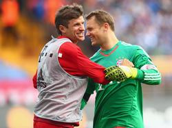 Thomas Müller und Manuel Neuer (r.) sind nominiert