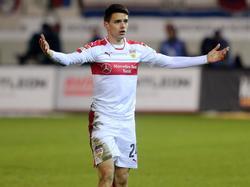 Josip Brekalo traf gegen Heidenheim zum ersten Mal für den VfB Stuttgart