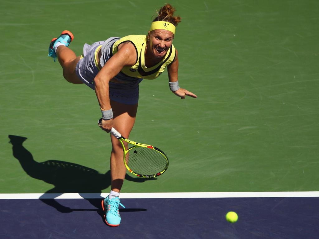 Platz 8 (-): Svetlana Kuznetsova - 4410 Punkte