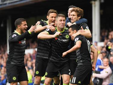 Pedro adelanto al Chelsea. (Foto: Getty)