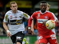Lukas Jäger (links) gegen Austrias Kayode setzt seinen nächsten Karriereschritt