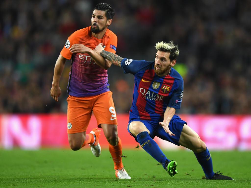 Nolito se volverá a medir a Messi en LaLiga. (Foto: Getty)
