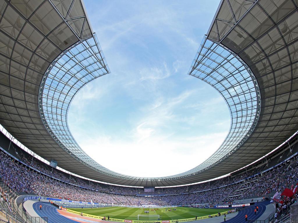 Im Mittelpunkt: das Berliner Olympiastadion
