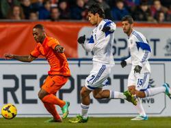Roi Kehat (m.) im Dress der israelischen U21-Nationalmannschaft