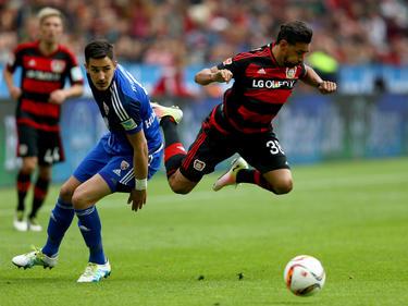 Karim Bellarabi und die Werkself feierten einen 3:2-Sieg gegen FCI