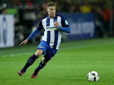 Mitchell Weiser steht Berlin im Spiel gegen Werder Bremen wohl wieder zur Verfügung
