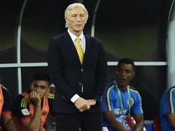 El seleccionador de Colombia, José Pékerman. (Foto: Getty)