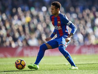 Neymar con el FC Barcelona en LaLiga. (Foto: Getty)