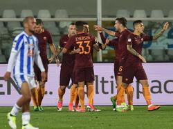 Jubel bei der Roma, Enttäuschung beim Gegner