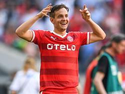 Christian Gartner hat um ein weiteres Jahr in Düsseldorf verlängert