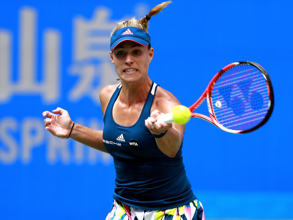 Angelique Kerber fordert nun Petra Kvitova