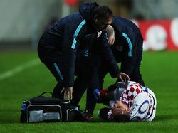 Da ist es passiert: Marko Pjaca verletzte sich im Länderspiel schwer