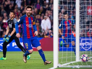 Leo Messi fue de nuevo el mejor del Barcelona. (Foto: Getty=