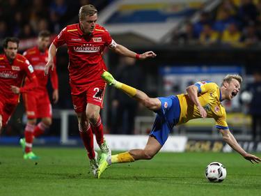 Felix Kroos (li.)  fällt am letzten Spieltag verletzt aus