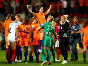 Die Niederländerinnen erreichen bei der Heim-EM das Endspiel