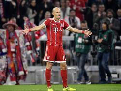 Robben sabe que el PSG es un bloque y lo complicado que será el encuentro. (Foto: Getty)