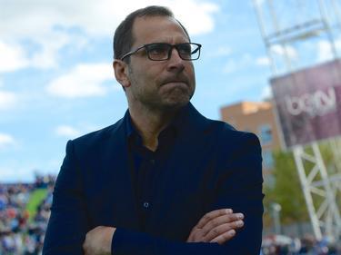 Trainer Juan Esnáider muss mit Getafe den Gang in die zweite Liga antreten