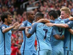 Manchester City hat das Derby gegen United gewonnen
