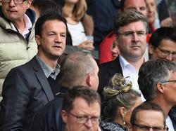 Axel Hellmann (r.) hat das DFB-Sportgericht kritisiert