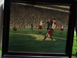 Ein Gemälde für die Ewigkeit: Oskar Rohrs staubiger Elfmeter im Finale 1932