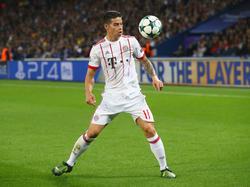 James Rodríguez ist vor der Saison zum FC Bayern gewechselt