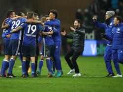 Schalke 04 macht aus einem 0:2 ein 2:2