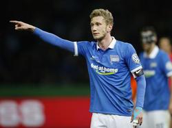Fabian Lustenberger und die Hertha gehen selbstbewusst in die Europa-League-Quali