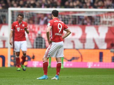 Robert Lewandowski und der FC Bayern ließen gegen Mainz überraschend Punkte liegen